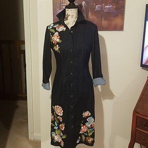 New York & Company jean dress